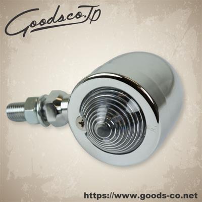 【GOODS】Small Bullet 方向燈 鍍鉻 [透明] - 「Webike-摩托百貨」