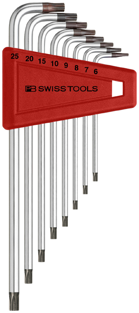 L Type Anti-tamper Hexalobe Wrench Set