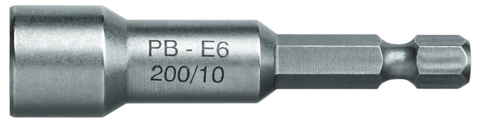 【PB】E6-200-13M 套筒起子頭 (附磁性) - 「Webike-摩托百貨」