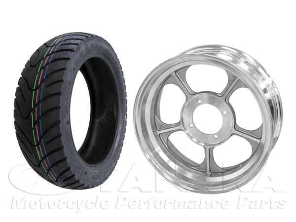 【田中商會】MONKEY・GORILLA用 12吋 鋁合金鑄造輪框・KENDA輪胎組 - 「Webike-摩托百貨」