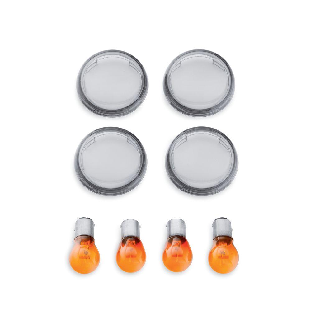 HARLEY-DAVIDSON ハーレーダビッドソン:Smoked Turn Signal Lens Kit
