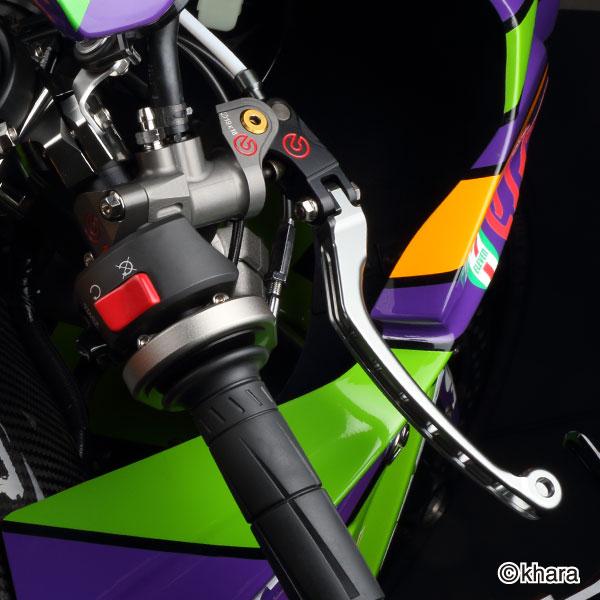ZETA ジータ:フライトレバー/ブレーキ 3フィンガー
