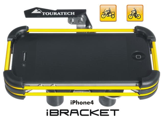 【TOURATECH】Apple iPhone4/4s 手機支架 i Bracket-Motorcyclet-Bicycle - 「Webike-摩托百貨」