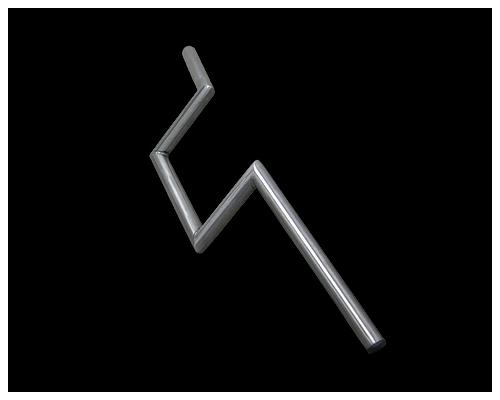 Neofactory ネオファクトリー:ヘコミ無し 6インチ Zバーハンドル 未塗装