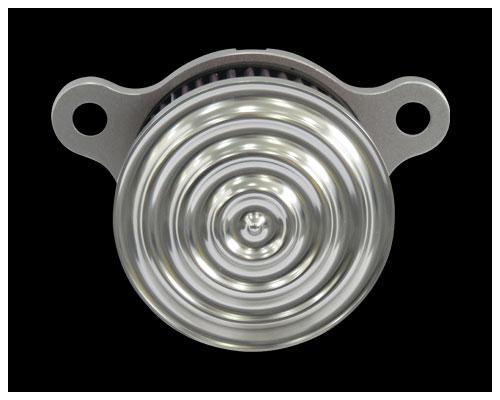 【Neofactory】4吋圓形空氣濾清器 ripple - 「Webike-摩托百貨」