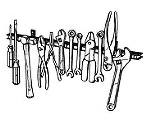 【Neofactory】LISLE 13吋磁鐵工具架 - 「Webike-摩托百貨」