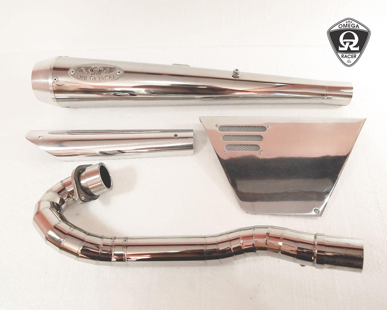 【OMEGA RACER】Scrambler 全段排氣管 - 「Webike-摩托百貨」