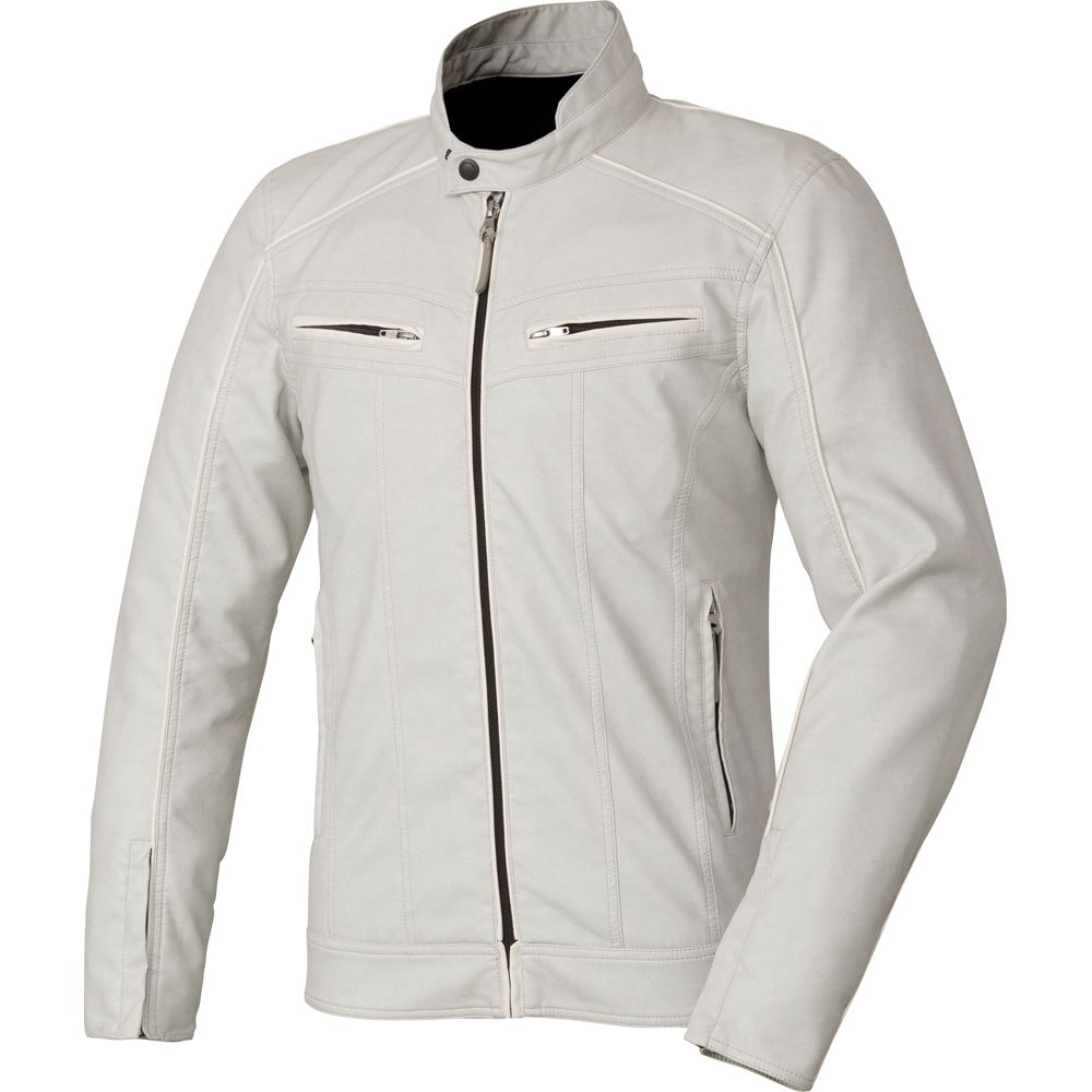 Synthetic Leather Slim Riders Jacket GSM12608