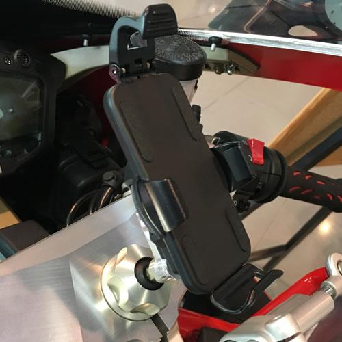 【AELLA】導航機固定架/智慧型手機對應 - 「Webike-摩托百貨」