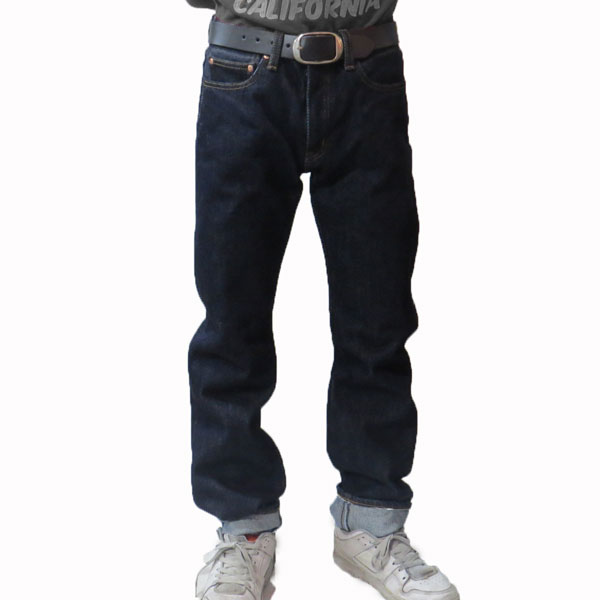 [Kojima Jeans] 21oz Heavy Straight Denim