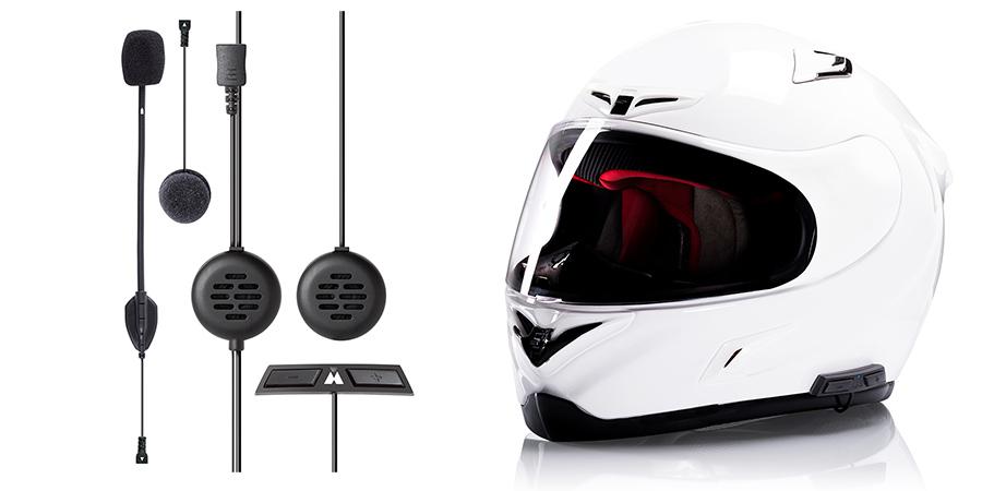 MIDLAND ミッドランド:BT GO UNI ユニバーサル フルフェイスヘルメット対応インカム
