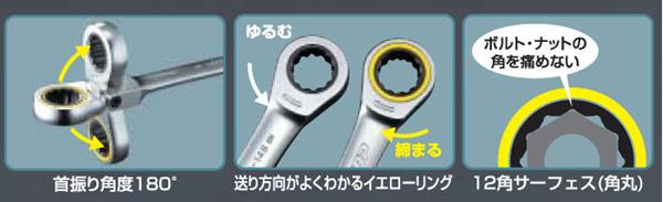 【KOWA】梅花棘輪扳手(長) - 「Webike-摩托百貨」
