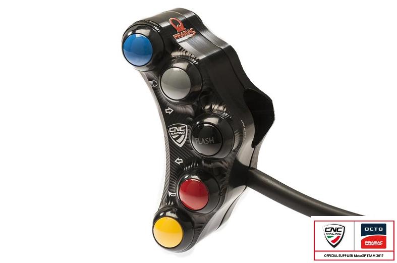 【CNC Racing】Street - Pramac Racing 限定版左側把手開關 - 「Webike-摩托百貨」