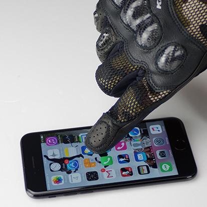 【KOMINE】GK-197 3D碳纖維網格防護手套 Senna - 「Webike-摩托百貨」