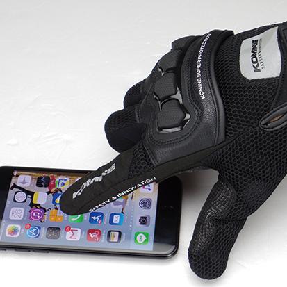【KOMINE】GK-215 3D網格防護手套 - 「Webike-摩托百貨」