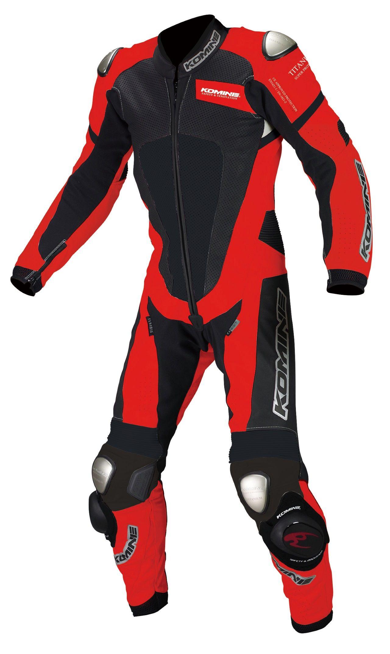 S-51 Titanium Leather Suit