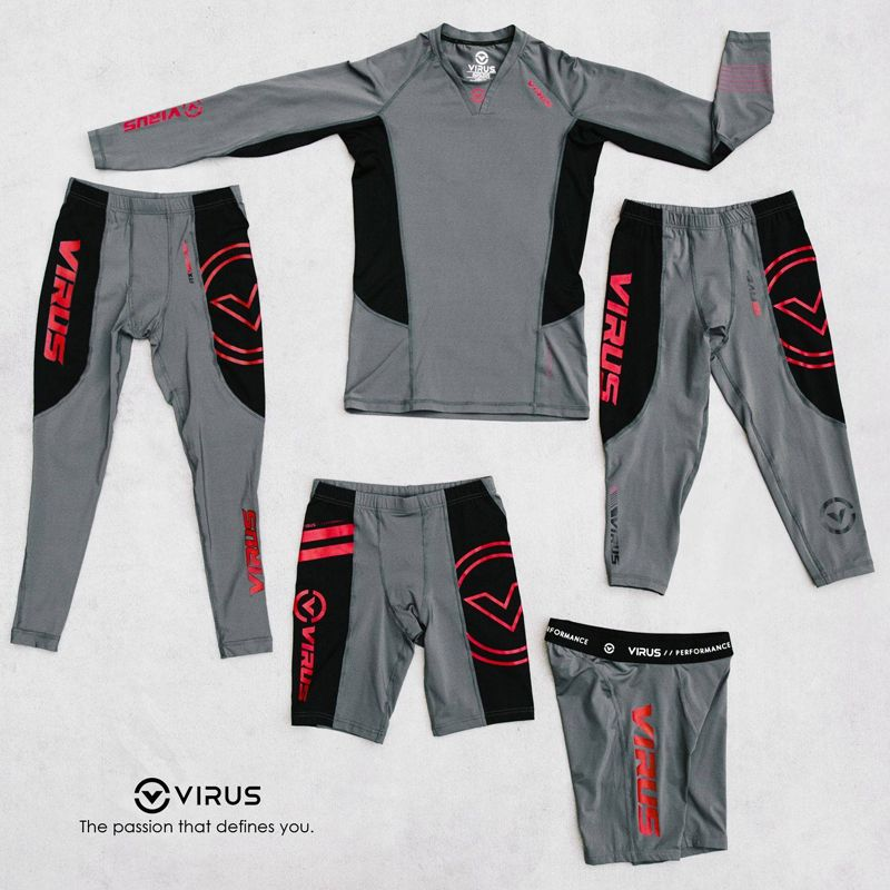 【VIRUS】壓縮內穿長褲 (RX7-v3)StayCool 冷速乾 - 「Webike-摩托百貨」