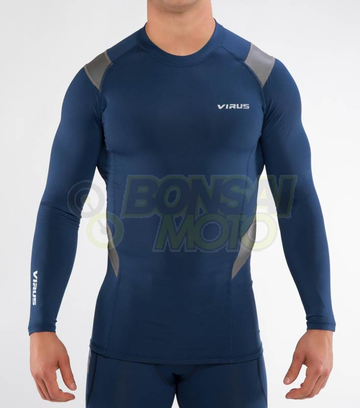 【VIRUS】X-FORM 壓縮長袖內穿衣(SiO15X)Stay Warm 暖速乾 - 「Webike-摩托百貨」