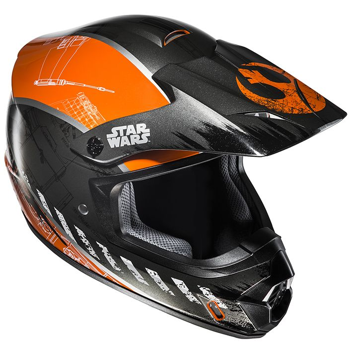 【HJC】HJH143 STARWARS CS-MXII REBEL X-WING 越野安全帽 - 「Webike-摩托百貨」