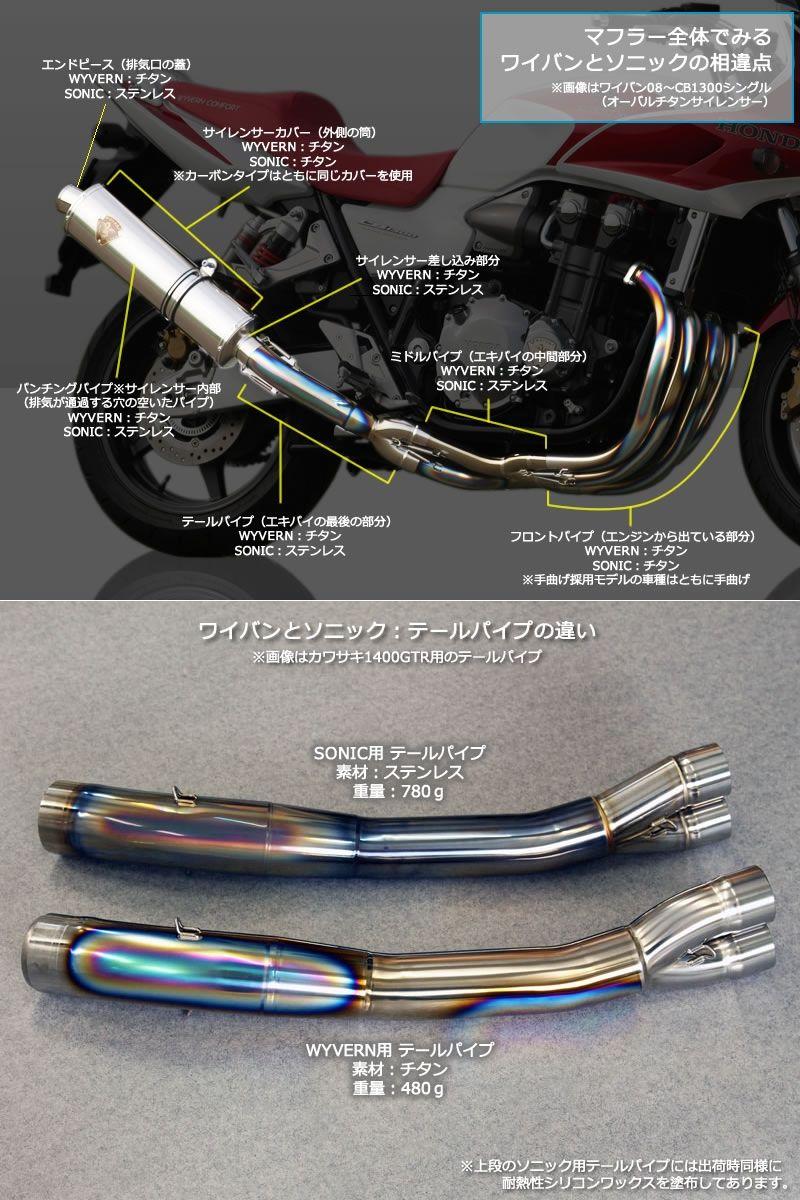 【r's gear】Wyvern realistic specs 單消音器 - 「Webike-摩托百貨」