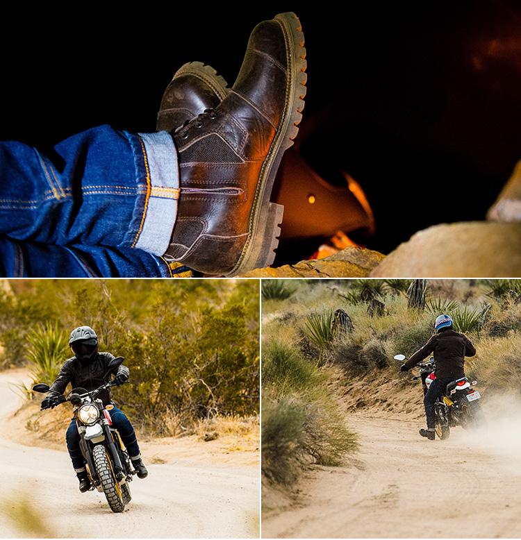 【gaerne】Neoretro車靴「G Warrior」 - 「Webike-摩托百貨」