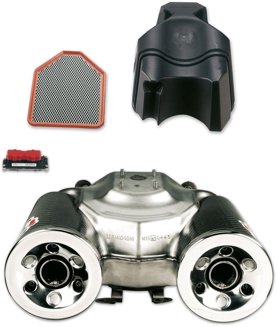 【DUCATI performance】Homologated 排氣管尾段套件 (碳纖維外殼) - 「Webike-摩托百貨」