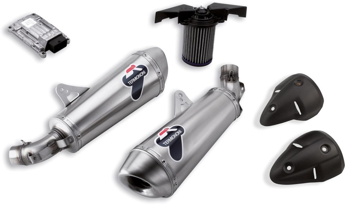 【DUCATI performance】競賽用不銹鋼排氣管套件 - 「Webike-摩托百貨」