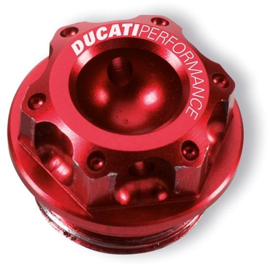 【DUCATI performance】鋁合金切削加工機油加注口蓋 - 「Webike-摩托百貨」