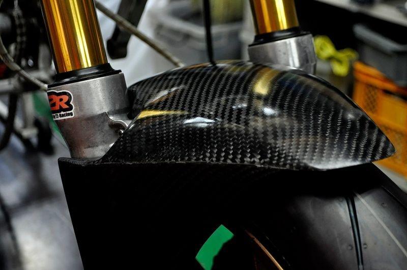 【T2 Racing】清漆塗裝短版前土除 - 「Webike-摩托百貨」