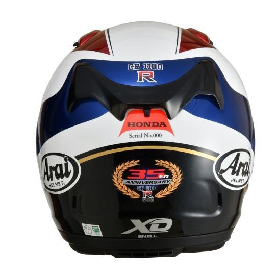 【Arai】【預購商品】XD CB1100R塗裝 限量款全罩式安全帽 - 「Webike-摩托百貨」