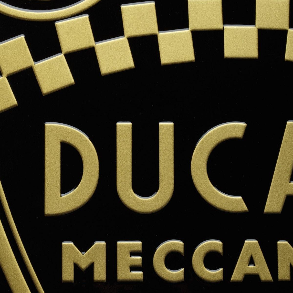 【DUCATI performance】Shield 金屬徽章 - 「Webike-摩托百貨」