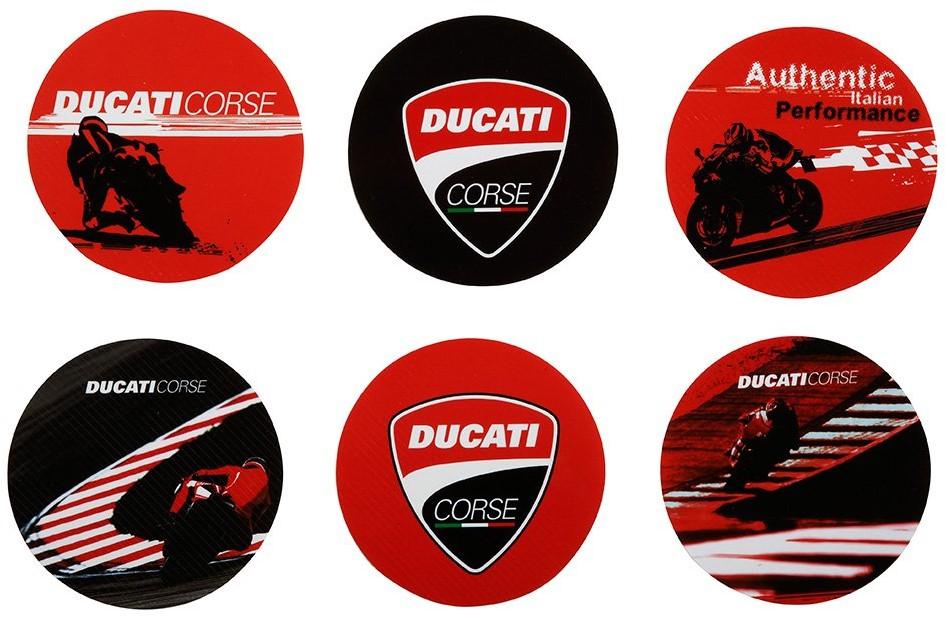 【DUCATI performance】Ducati Corse 杯墊 - 「Webike-摩托百貨」