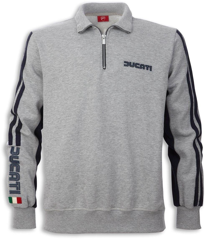 【DUCATI performance】80s 半拉鍊運動衫 - 「Webike-摩托百貨」