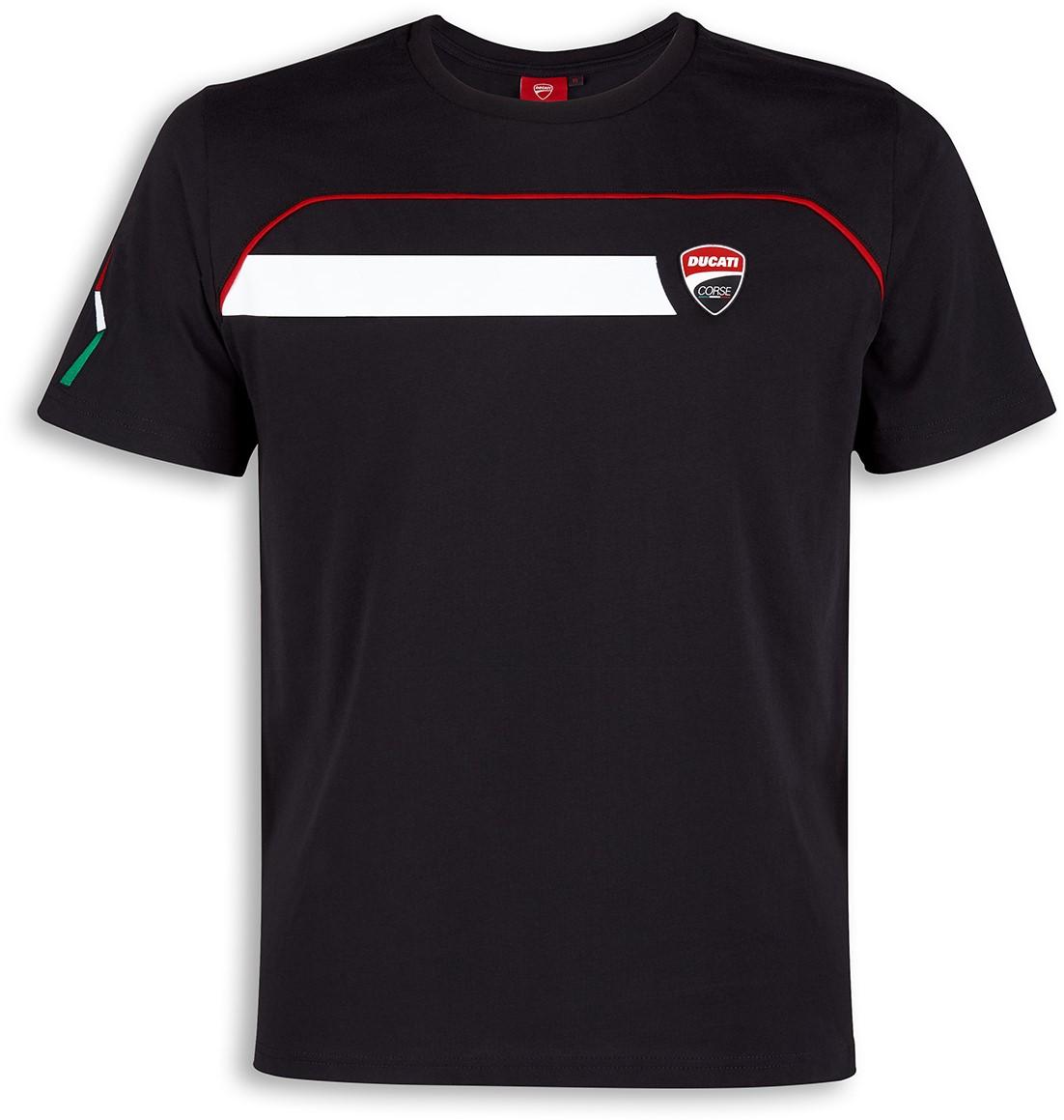 【DUCATI performance】Ducati Corse Speed 黑色 T恤 - 「Webike-摩托百貨」