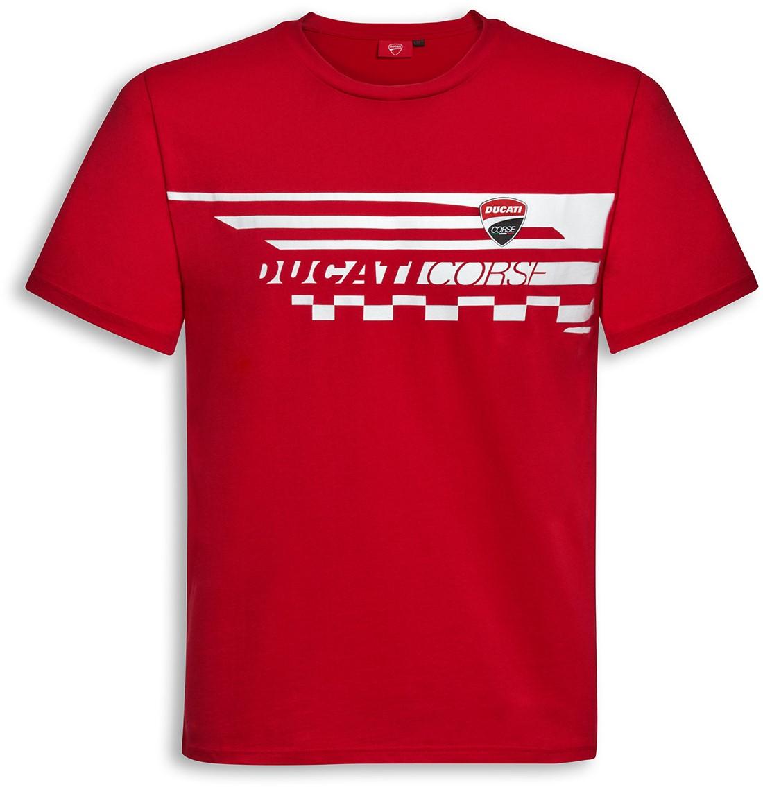 【DUCATI performance】Red Check T恤 - 「Webike-摩托百貨」