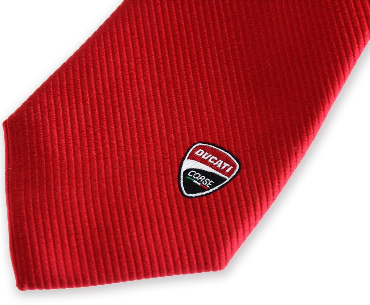 【DUCATI performance】Ducati Corse 領帶 - 「Webike-摩托百貨」