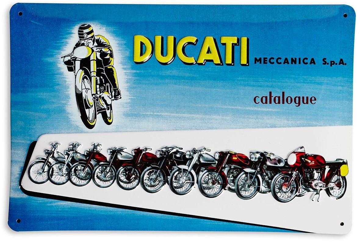 【DUCATI performance】Ducati 金屬裝飾板 - 「Webike-摩托百貨」