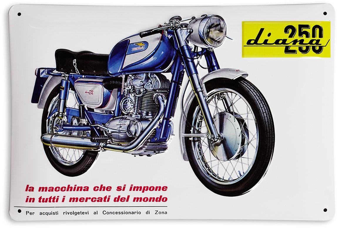 【DUCATI performance】Diana 250 金屬裝飾板 - 「Webike-摩托百貨」