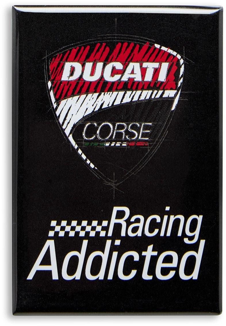 【DUCATI performance】Ducati Corse 磁鐵 - 「Webike-摩托百貨」