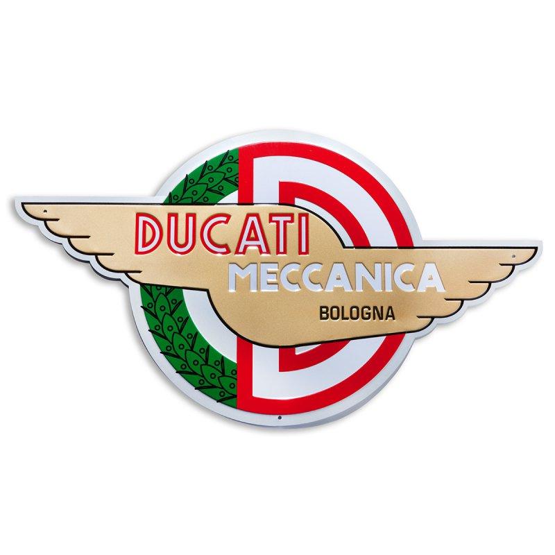【DUCATI performance】Meccanica 金屬徽章 - 「Webike-摩托百貨」