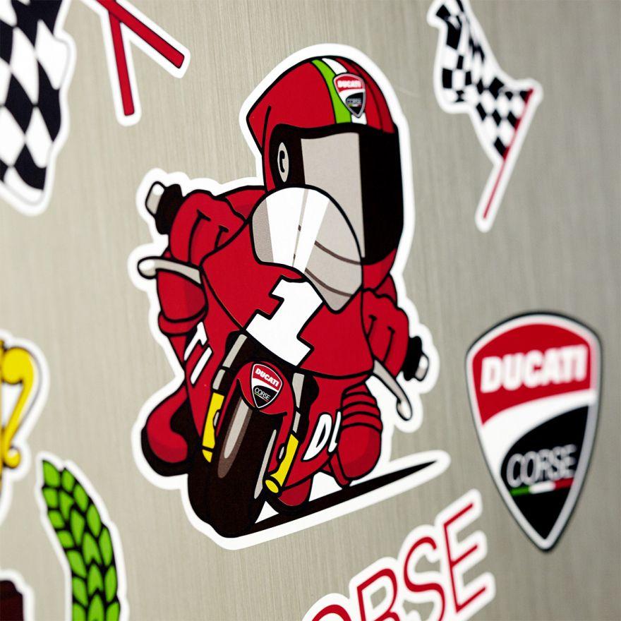 【DUCATI performance】卡通裝飾貼紙 - 「Webike-摩托百貨」