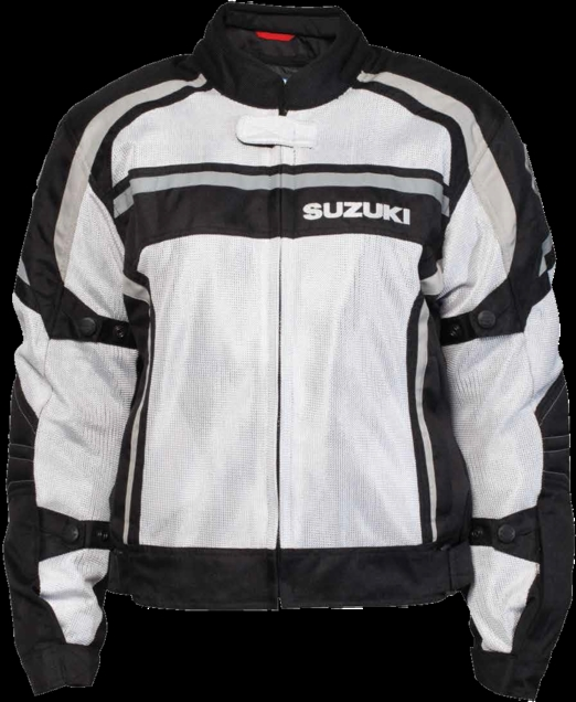 【US SUZUKI】女用 Suzuki 網格 外套 - 「Webike-摩托百貨」