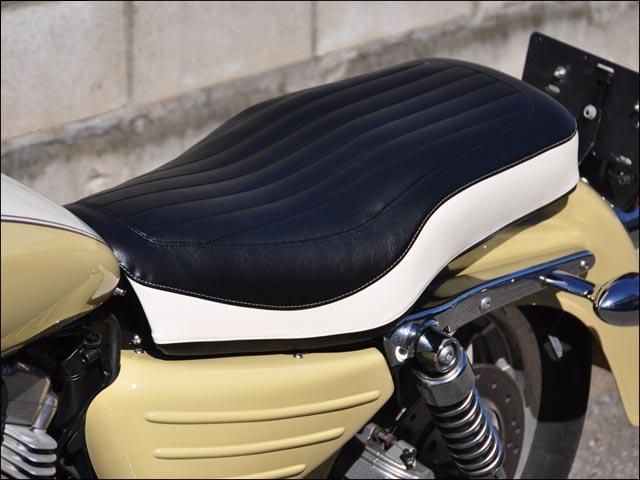【CHIC DESIGN】復古風雙座墊Iron - 「Webike-摩托百貨」