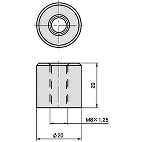 【2%er】M8 焊接用螺帽 - 「Webike-摩托百貨」