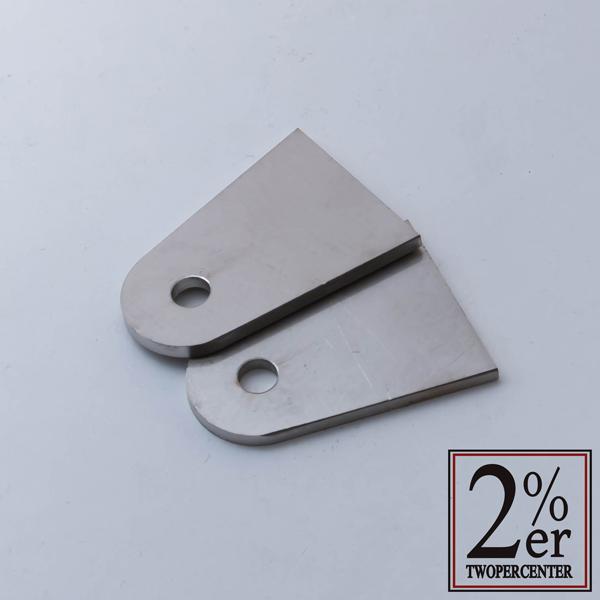 【2%er】3mm厚焊接用固定座 (10件1組) - 「Webike-摩托百貨」