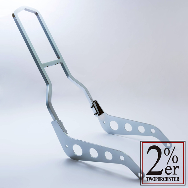 【2%er】Hall Type Sissy Bar 螺絲固定式後扶手套件 - 「Webike-摩托百貨」