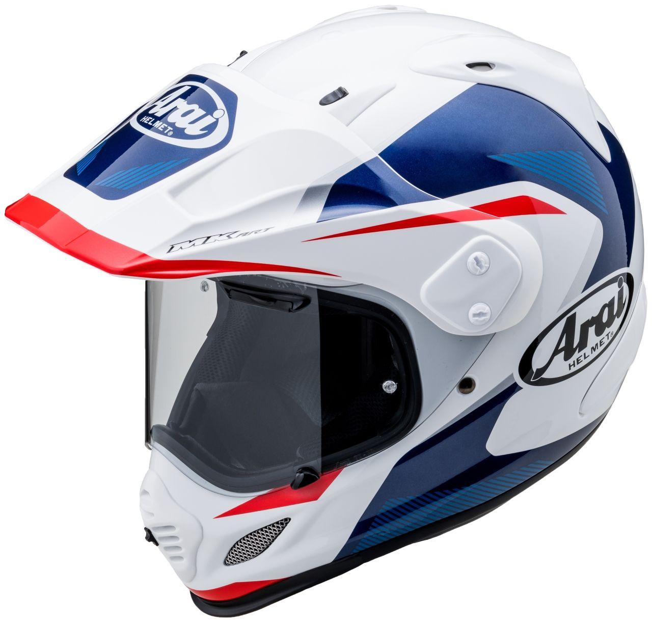 TOUR-CROSS 3 (XD4) BREAK [White/Blue] Helmet