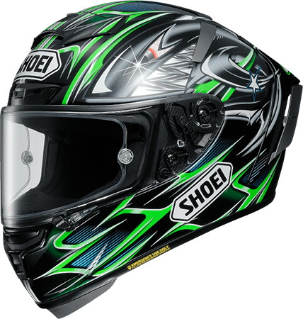 X-14 YANAGAWA 5 TC-4 GREEN/BLACK Helmet