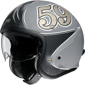 SHOEI ショウエイJ・O GRATTE-CIEL [ジェイ・オー グラット-シエル TC-10 GREY/BLACK マットカラー] ヘルメット