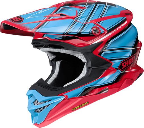 VFX-WR (VFX-EVO) GLAIVE [TC-1 RED/BLACK] Helmet